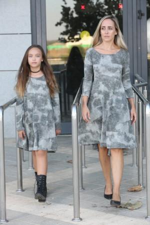 מרוסטרות, תואמות לאם ולבת mom & me מחיר לשתי שמלות