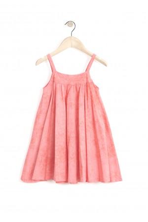 שמלת כתפיות קורל