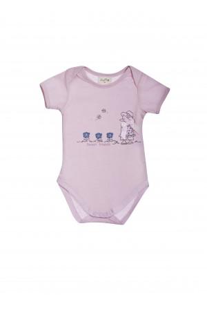 ברוזה בורוד - בגד גוף לתינוקות